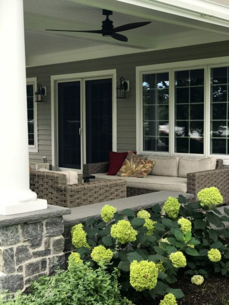 Raised Cover Patio In Mendham, NJ